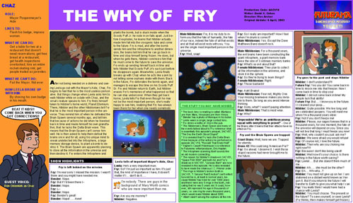 The Why Of Fry
